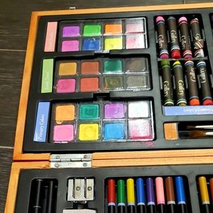Gallery Office - Artist colored pencils, oil pastels, watercolors